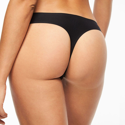 Chantelle Thong Trosa Soft Stretch Black TU