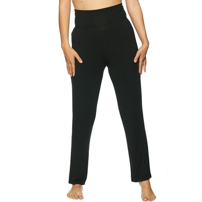 Lady Avenue Yoga Pants Bambu Black