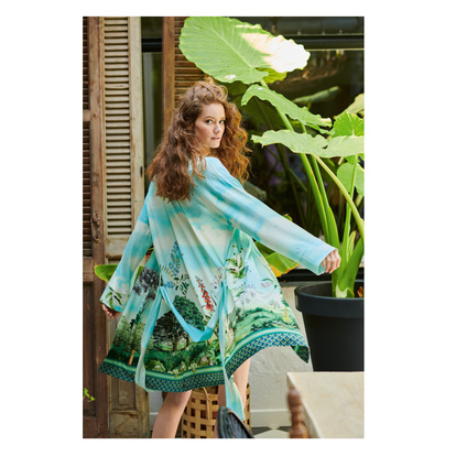 Pip Studio Niah Kimono High in the Sky Multi
