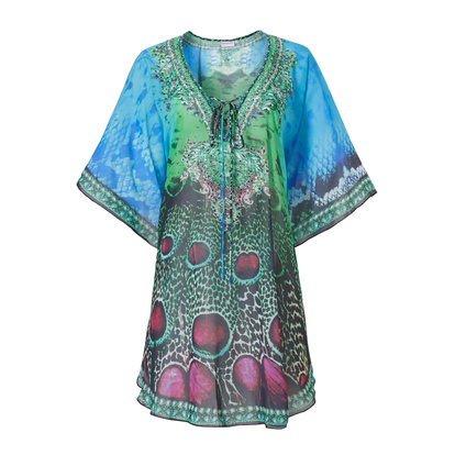 Pastunette Beach Tunika One Size Aqua Green