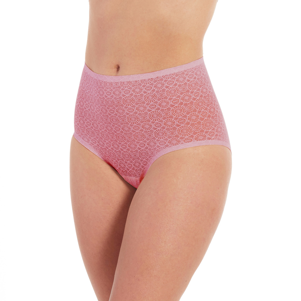 Magic Bodyfashion Maxitrosor Dream Panty Lace Blush Pink 2-pack