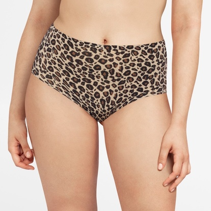 Chantelle Maxitrosa Softstretch Leopard One Size