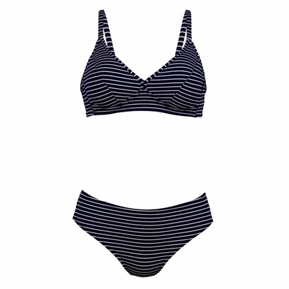 Rosa Faia Bikini Spacer Cup Navy Stripes